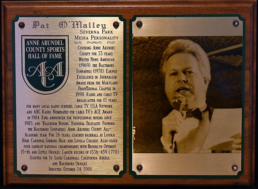 2001 Pat O'Malley