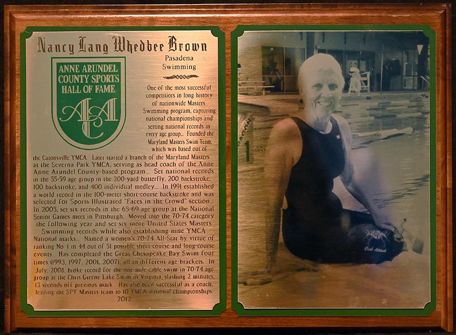 2012 Nancy Lang Whedbee Brown